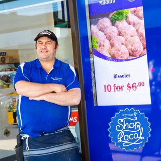 It was a case of deja vu for Ronny Villiva when he stepped foot in the door at The Butcher Mildura six years ago. - Having started his apprenticeship at the very same shop in 1984, Ronny has returned with his family to make it his own. - Since then, he says his customers have come to rely on his shop for good quality, fresh cuts of meat served with old-school service. - #TheButcherMildura #MilduraCityHeart #LoveThisPlace