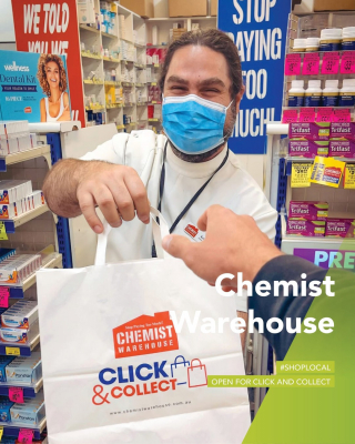 Chemist Warehouse providing all the supplements, vitamins and health products to make sure we beat the lockdown blues.  - Doors are still open throughout lockdown as an essential service. - #MilduraCityHeart #LoveThisPlace