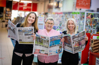 Day 5 and we're keeping up with the news thanks to Klemms Newsagency. Fingers crossed for good news and lockdown lifting in two days time!  *please note this photo was taken before masks were required