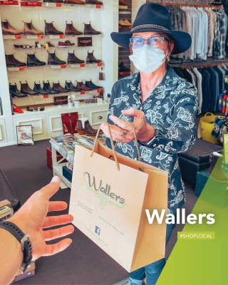 Even though doors are open and our traders follow all the required measures to keep you safe, if you're not ready to be out and about just yet, click and collect is still the perfect way to shop local! - #MilduraWallers #SupportLocal #lovethisplace