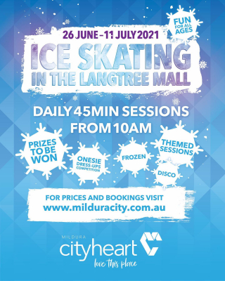 ❄️ ⛄️ TWO MORE DAYS! ⛄️❄️ Skate the weekend away, with only two more days left of the Winter Wonderland in the Langtree Mall. Finishing this Sunday July 11, come on down for a final spin on the ice. - #iceskating #winterfun #lovethisplace