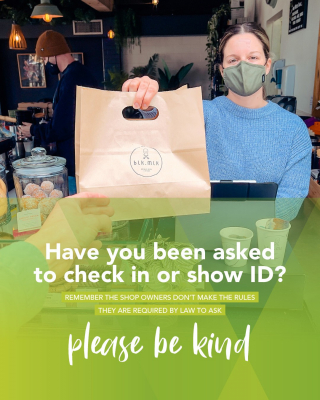 Don't forget your ID! - look at the positives, is it just us or does being asked for ID have you feeling young again?! 😂 - We know it takes a little extra time, but it's required by law for staff to check the ID's of all patrons. Please be kind. - #LoveThisPlace #SupportLocal