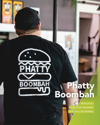 Looking for a lockdown date night delivery? @phatty_boombah is still serving kickarse burgers and those next level fries we can't resist 👌🏼