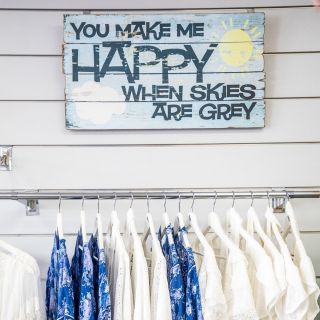 Day 3 of lockdown and we're embracing our inner Marie Kondo. Sparking some joy with a spring wardrobe revamp from Joywood Fashions.  - Making us happy when skies are grey, shop online www.joywood.com.au