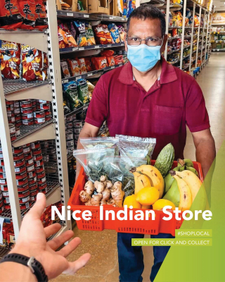 Fill your shopping list at Nice Indian Store and cook up a storm at home tonight - Visit Shermin and Joseph for all your grocery needs. Call ahead or shop safely at 107 Lime Avenue. - #MilduraCityHeart #LoveThisPlace #SupportLocal